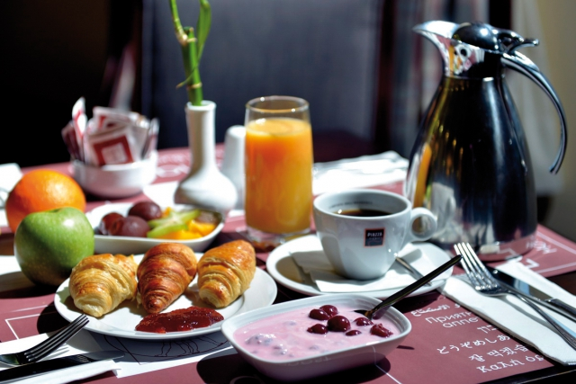 Frühstück Leonardo Hotels Budapest, in Ungarn