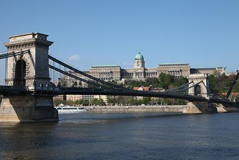 Burg auf Budaerseite