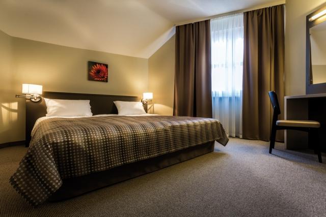 Zimmer im Hotel Corvin Budapest, Ungarn