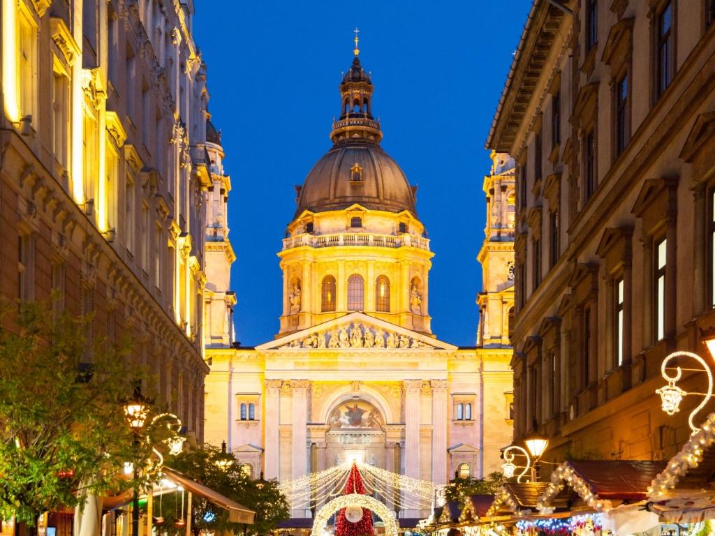 Weihnachstmarkt Basilika